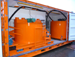 Containerised, Automated Grout Mixing Systems