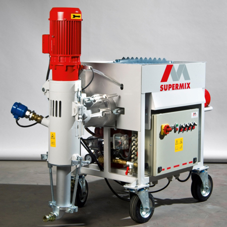 SuperMix Single/Three Phase Double Mixing/Pumping Machine
